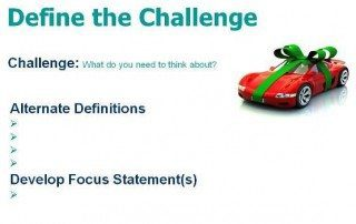 Define Challenge Focus is the first step