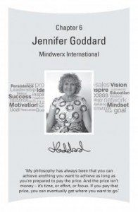 Business Millionaire Jennifer Goddard Books featuring entrepreneurs and business leaders